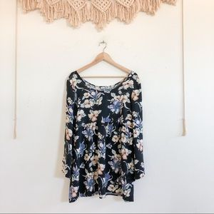 Urban Outfitters Urban Renewal Floral Tunic Top